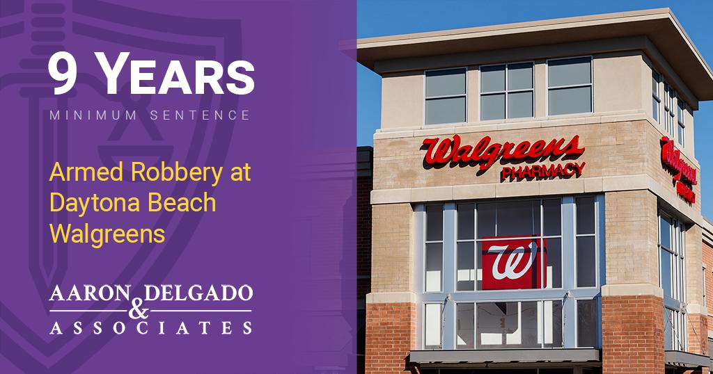 Armed Robbery at Daytona Beach Walgreens 2019