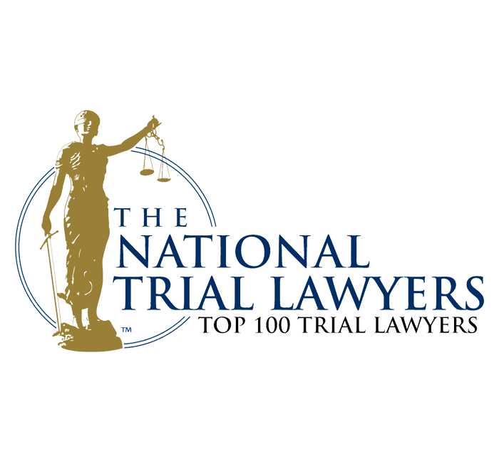 Aaron Delgado - Top 100 Trial Lawyers by The National Trial Lawyers