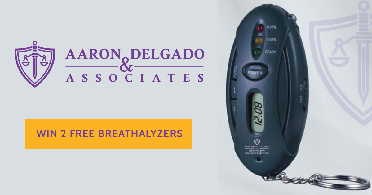 BAC Caltultor Giveaway - 2 Free Breathalyzers